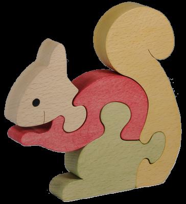 Puzzle en bois Ecureuil