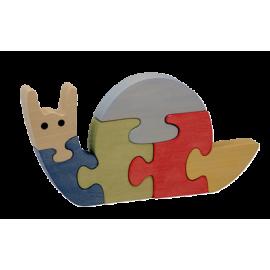 Le Puzzle en bois Escargot