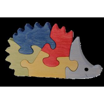Le Puzzle en bois Hérisson