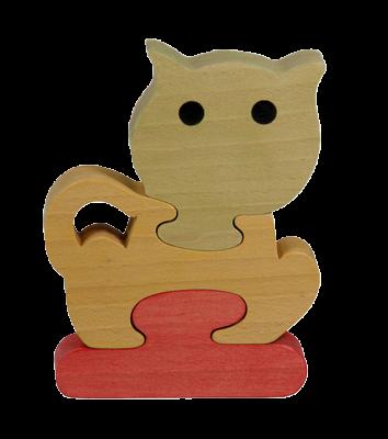 Puzzle en bois Chat