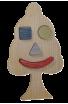Le Puzzle en bois Arbre à Encastrement