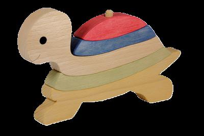 Puzzle en bois Vertical Tortue