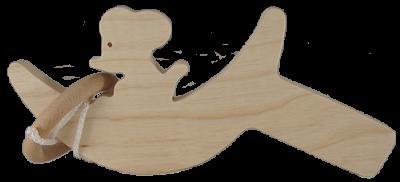 Le Bilboquet Souris en bois