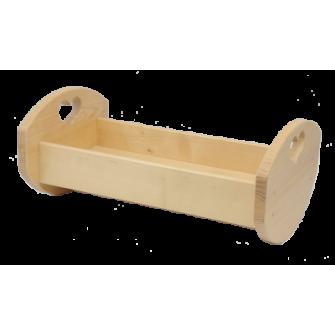Le Lit de Poupée en bois