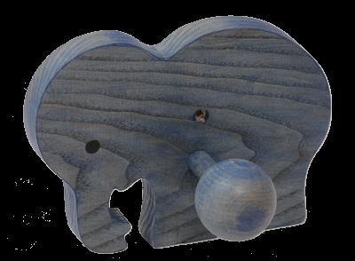 Le Portemanteau en bois Elephant