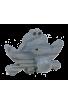 Le Portemanteau Grenouille en bois bleu
