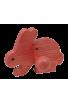 Le Portemanteau Lapin en bois rouge