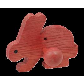 Le Portemanteau en bois Lapin