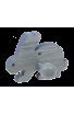 Le Portemanteau Lapin en bois bleu