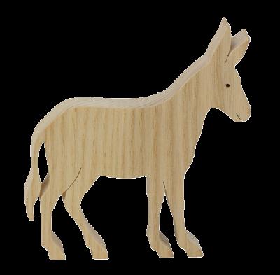 L'Âne en bois