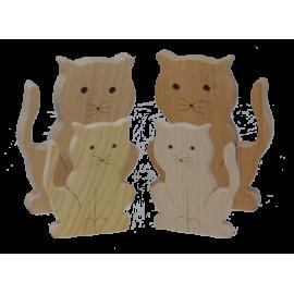 Le Grand Chat en bois
