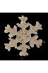 Le Flocon de Neige en bois