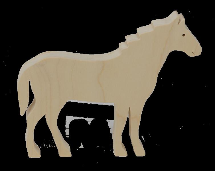 Le Cheval en bois