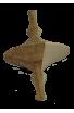 La Toupie bicolore en bois N°1