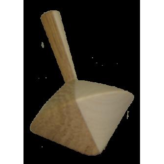 La Toupie bicolore en bois N°2