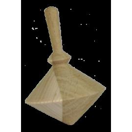 La Toupie bicolore en bois N°4