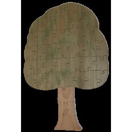 Puzzle en bois Arbre
