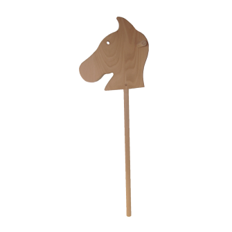 Le Cheval Bâton court