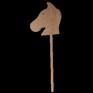 Le Cheval Bâton court en bois
