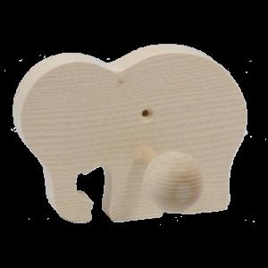 Le Portemanteau Eléphant brut