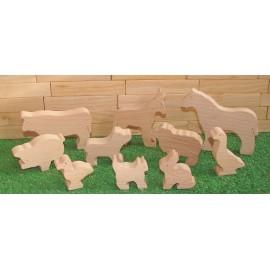 Les Animaux en bois de la ferme - unmondedebois.fr