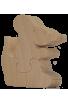 La boite à dent de lait souris - un monde de bois