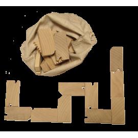 Le Jeu de Domino en bois