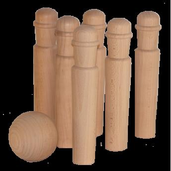 jeux de quilles en bois massif un monde de bois