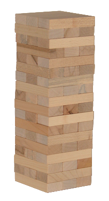 La Tour Infernale en bois