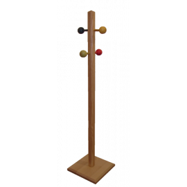 Le Portemanteau sur pied en bois