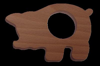 Le Rond de Serviette en bois Cochon