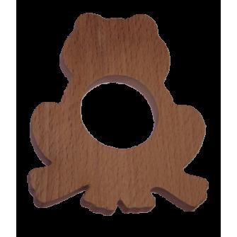 Le rond de serviette en bois grenouille fabrication bois - Les ronds de serviette ...