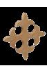 La croix de Lys en bois