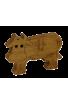 La Vache en bois