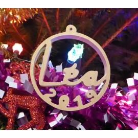 Boule de Noël Personnalisée avec le prénom