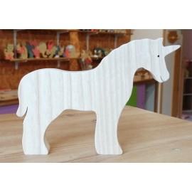 La Licorne en bois